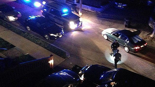Fotos: Un testigo captó el tiroteo entre los hermanos Tsarnáyev y la Policía