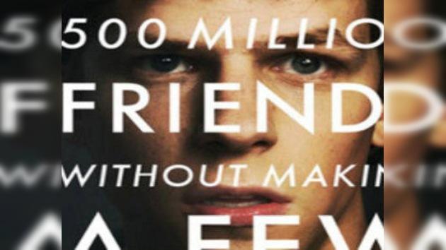Guión predecible: filman una película sobre Facebook
