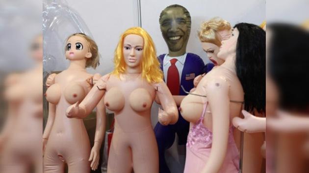 En China producen muñecas eróticas emulando a Barack Obama