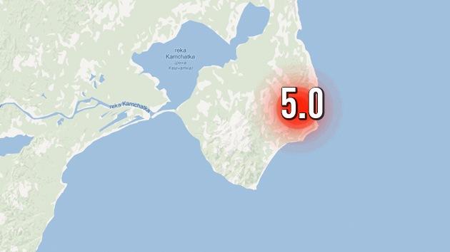 Un sismo de magnitud 5 sacude el Oriente Lejano ruso