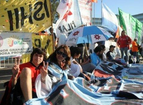 El respaldo del pueblo a la presidenta argentina Cristina Fernández de Kirchner