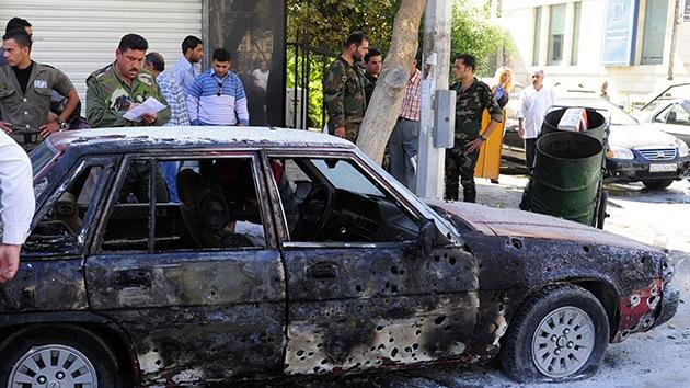 Siria: Dos obuses estallan cerca del hotel donde se alojan los inspectores de la ONU y la OPAQ