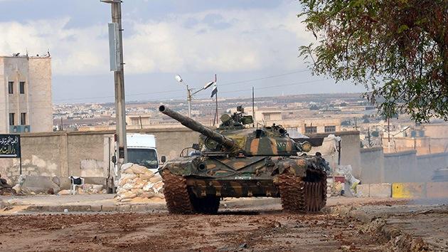El Ejército sirio repele los contraataques de los rebeldes en Alepo