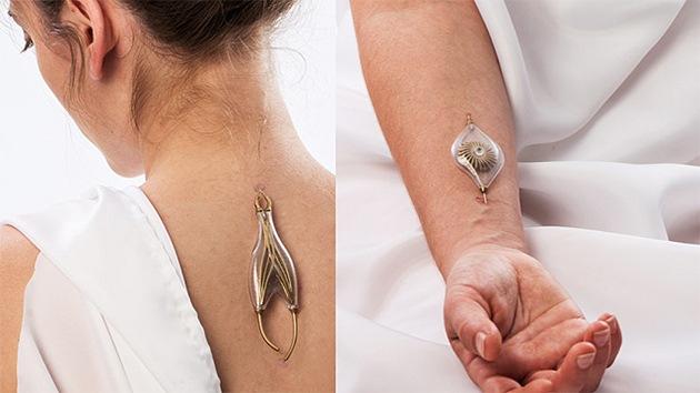 Diseñan la primera joya que se 'alimenta' extrayendo energía de las venas