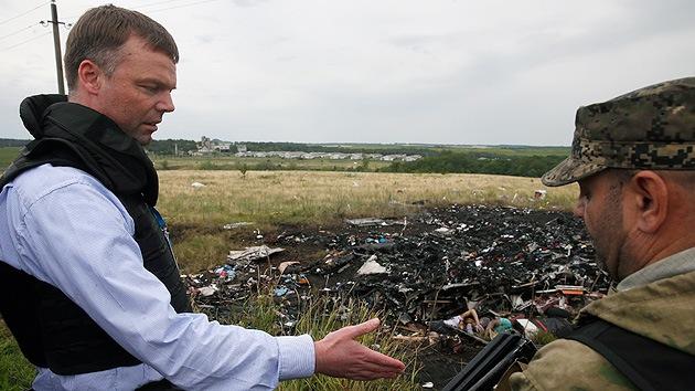 La OSCE desmiente que le negaran el acceso al lugar de la catástrofe aérea