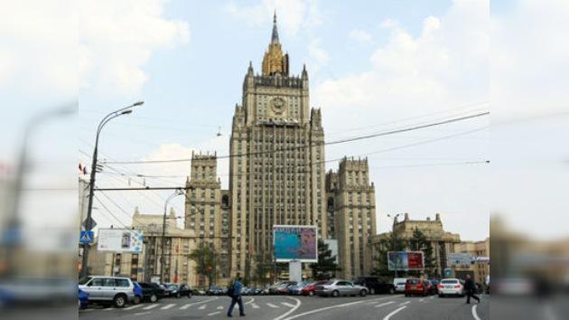 INFORME SEMANAL DEL MINISTERIO DE RELACIONES EXTERIORES DE RUSIA