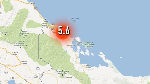 Un fuerte sismo sacude Panamá y Costa Rica