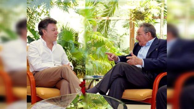 Juan Manuel Santos: 'es hora de acercar' a EE. UU. y Cuba