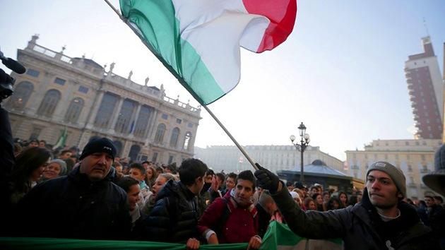 Video: Las protestas de 'las horcas' se extienden por toda Italia