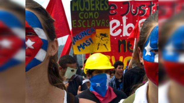 Marcha panuniversitaria en Latinoamérica