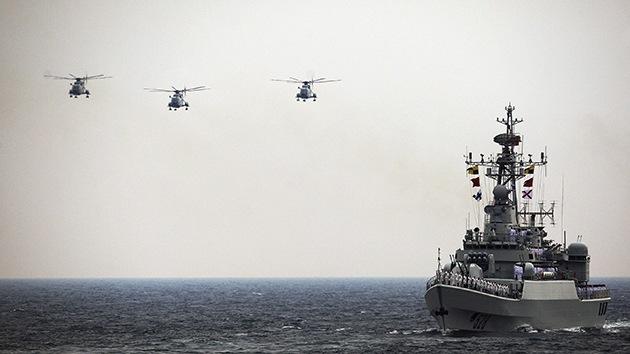 La fragata china Jiangkai II, ¿sustituto de los portahelicópteros Mistral para Rusia?