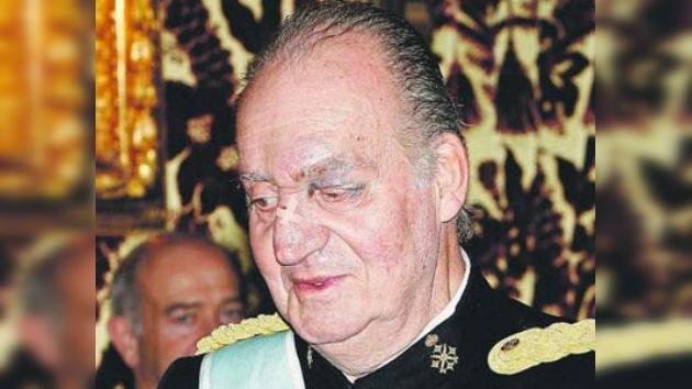 El ojo morado del rey de España