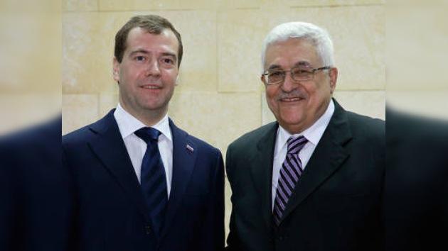Medvédev apoya creación de un Estado palestino con capital en Jerusalén
