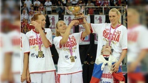 Las rusas, reinas del baloncesto en Europa