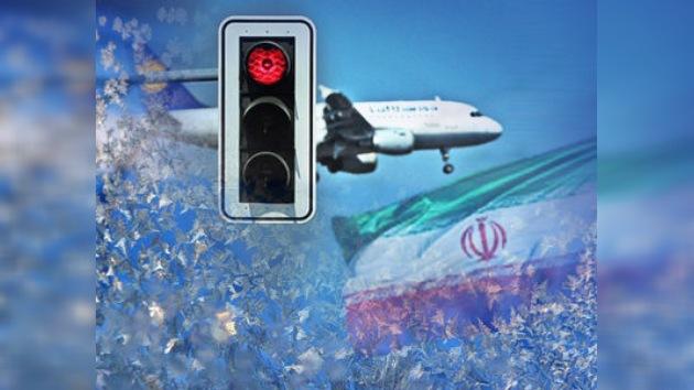Irán redujo el número de los vuelos por nevadas