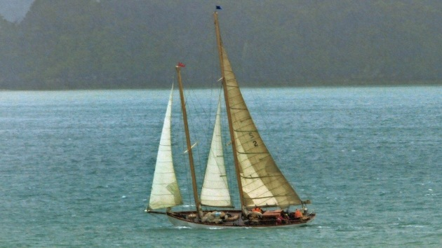 Satélites descubren un 'barco fantasma' surcando el Pacífico