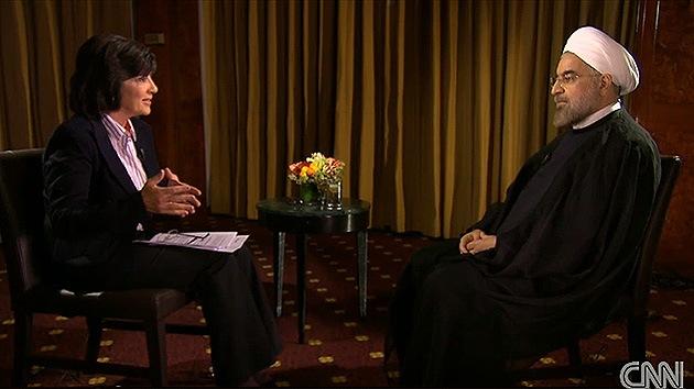 CNN tergiversa la entrevista del presidente iraní: Rohaní no dijo la palabra 'holocausto'
