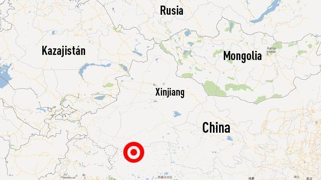Un sismo de magnitud 6,3 sacude el oeste de China
