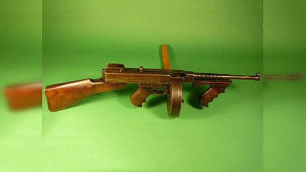 La metralleta tenía un precio: subastan las armas de Bonnie y Clyde por 210.000 dólares