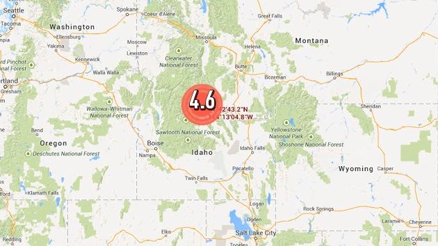 Un sismo de magnitud 4,6 sacude el oeste de EE.UU.