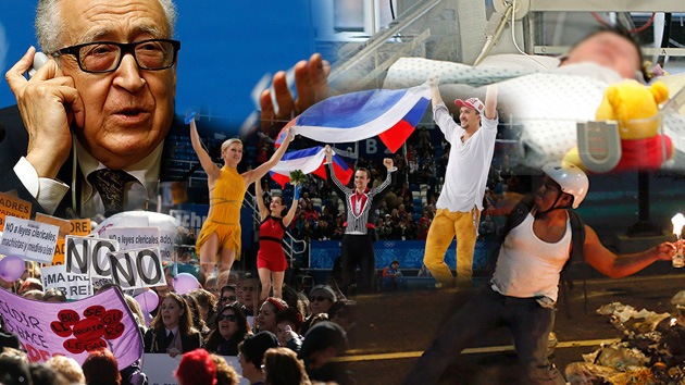 Balance semanal: Los Juegos Olímpicos de Sochi, tensión en Venezuela y estancamiento en Ginebra 2