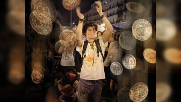 Un 'indignado' se convierte en millonario al ganar la lotería