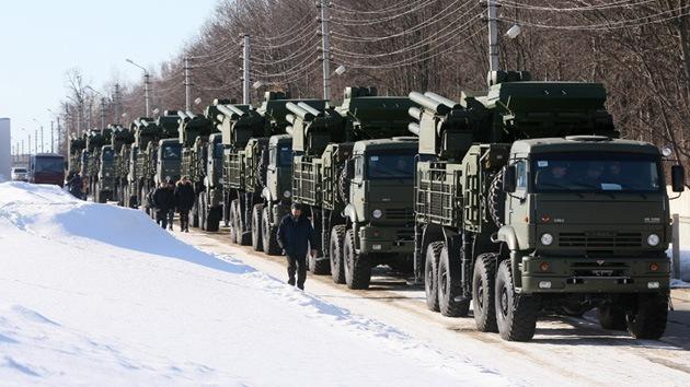 Rusia ha adaptado el sistema antiaéreo Pantsir a las condiciones del Ártico