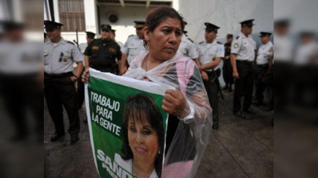 Sueños rotos: la ex primera dama de Guatemala apartada de las presidenciales