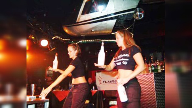 """El primer concurso femenino de """"flair"""" se celebró en Moscú"""