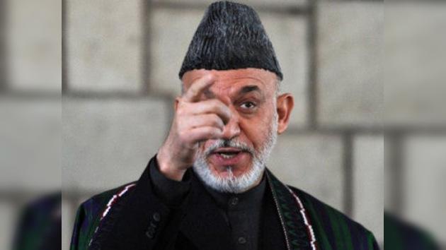 Karzái mete prisa a la OTAN: las tropas afganas deben asumir toda la seguridad ya en 2013