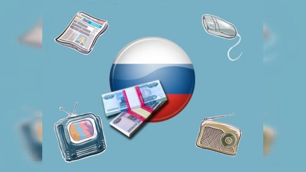 Rusia apoya a los medios de comunicación de masas