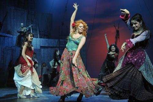 Ensayos del musical 'ZORRO' en Moscú