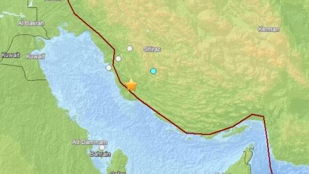 Un sismo de magnitud 5,0 sacude el sur de Irán