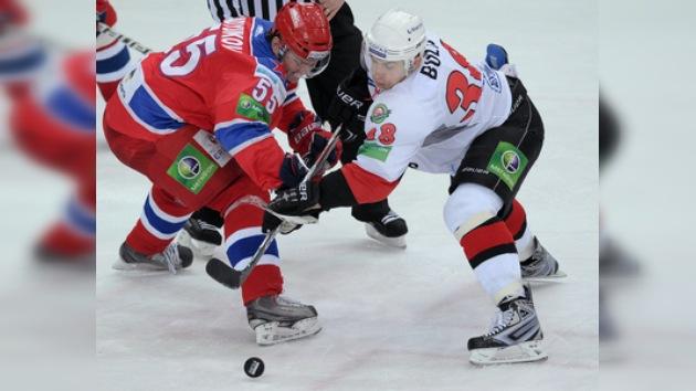 KHL: CSKA cae ante el líder y complica su pase a los 'play-off'