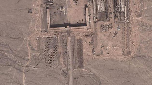"""Google Earth pone al descubierto un extraño complejo en China """"construido a toda prisa"""""""