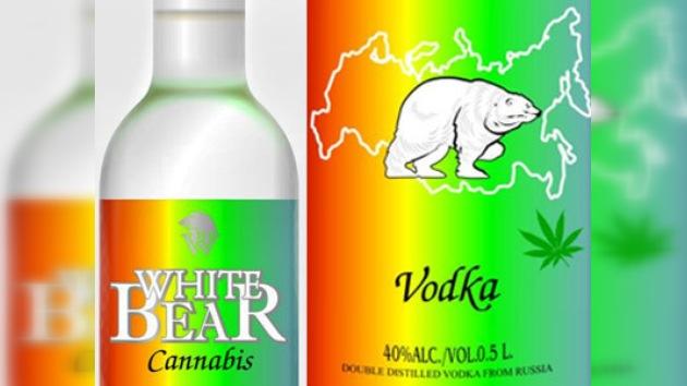 La Fiscalía rusa prohíbe la venta del vodka 'Oso blanco de cáñamo'