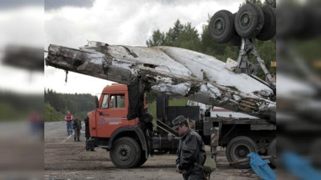 El Tu-134 no presentaba fallos técnicos antes del accidente