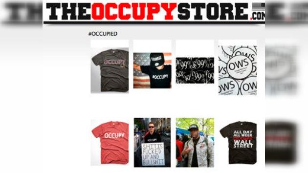 Los lemas anticapitalistas de 'Occupy Wall Street', ¿un negocio?