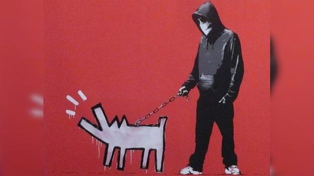 Banksy ayuda económicamente a los artistas rusos presos