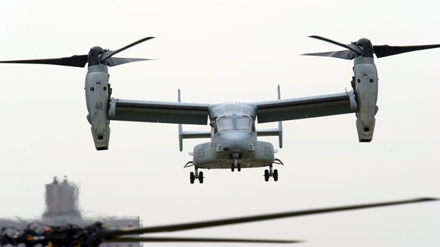 EE.UU. enviará convertiplanos CV-22 Osprey a Corea del Sur