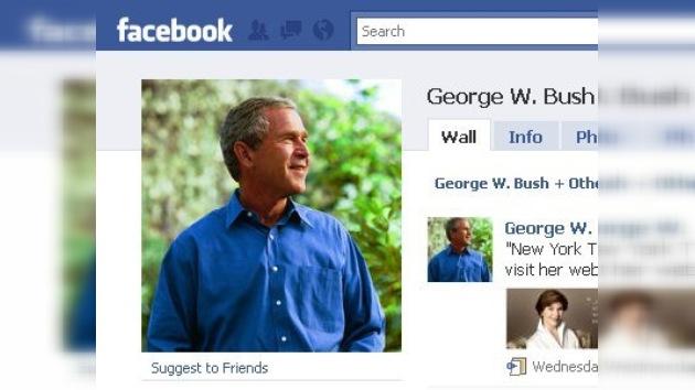 George W. Bush atrae a 117.000 amigos en Facebook