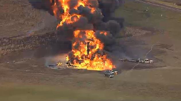 Se produce una gran explosión de un gasoducto en Texas