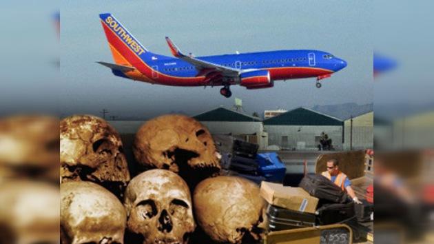 Encontradas decenas de cabezas humanas a bordo de un avión en Arkansas