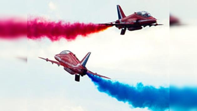 La Feria Aérea de Farnborough abre sus puertas para el público general