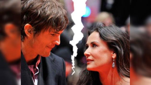 ¿Demi Moore y Ashton Kutcher se divorcian?