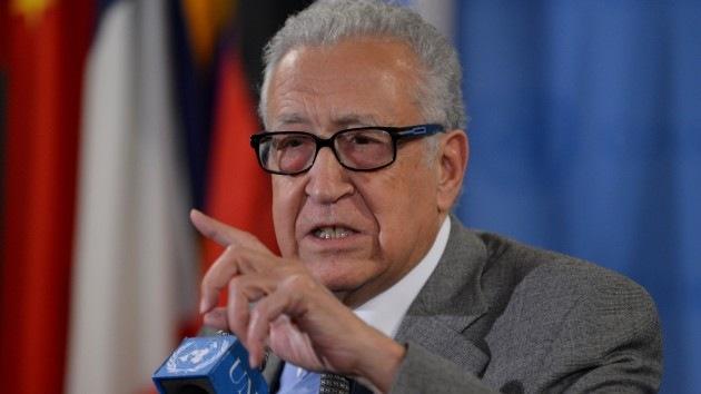 Brahimi podría renovar su cargo como mediador del conflicto sirio sin la Liga Árabe