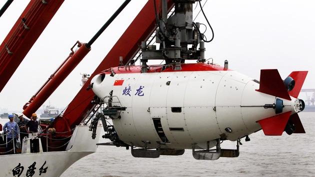 China suelta a un 'dragón' en la fosa de las Marianas