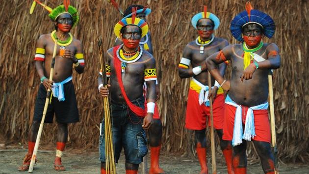 Talentosos aborígenes de la Amazonía representarán a Brasil en los JJ.OO. de 2016