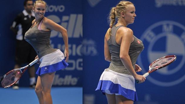 ¿Broma o racismo? La tenista Caroline Wozniacki imita a Serena Williams