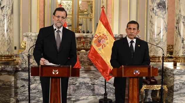"""Rajoy llama """"cubano"""" al Gobierno peruano"""